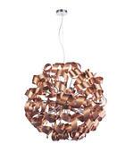 Led-hängeleuchte - Kupferfarben, Design, Metall (95/340cm) - Ambiente