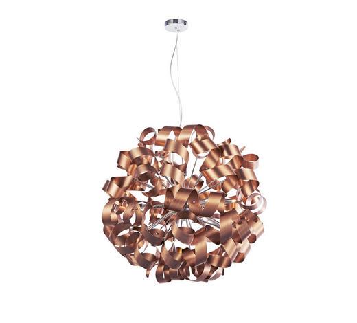 LED-HÄNGELEUCHTE   - Kupferfarben, LIFESTYLE, Metall (95/340cm) - Ambiente