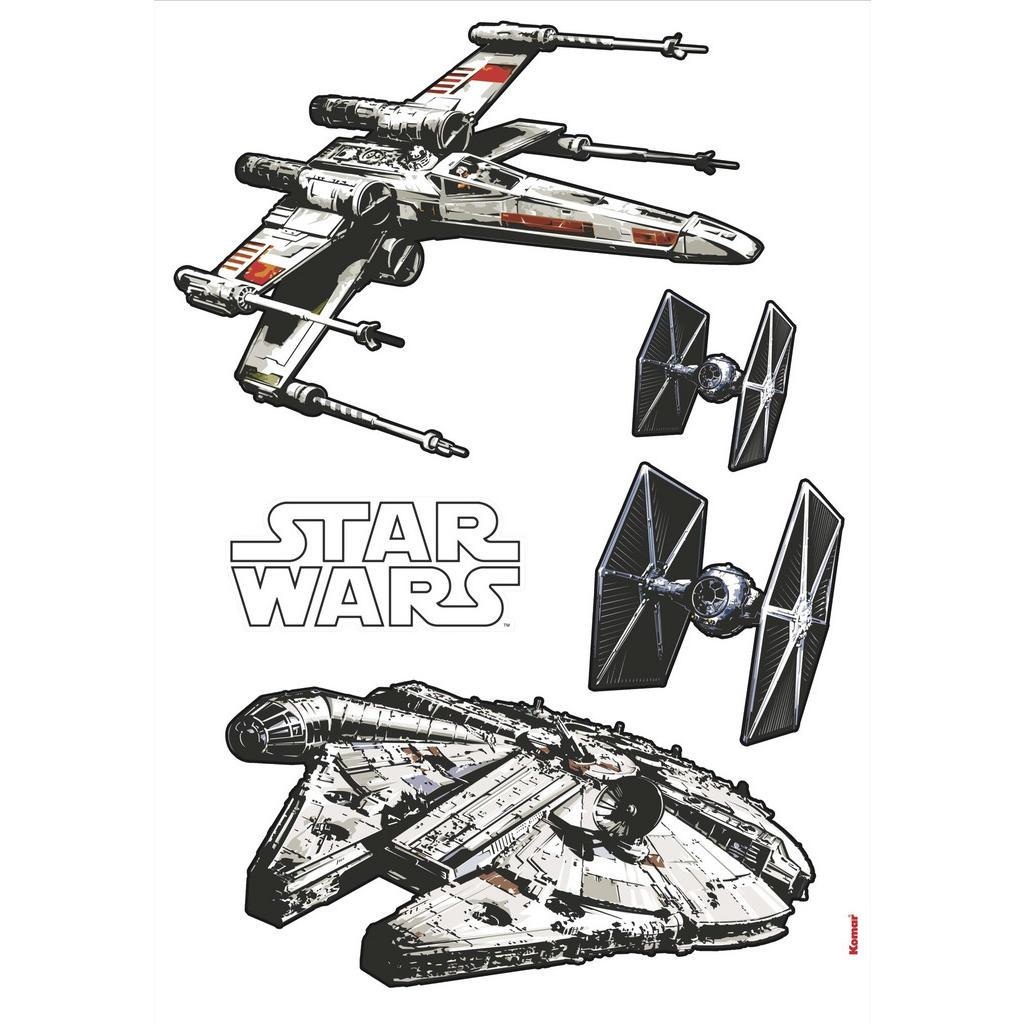 Komar Dekosticker Star Wars Spaceships