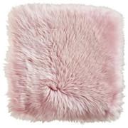 FÅRSKINN - ljusrosa/rosa, Basics, läder/textil (34/34cm) - Linea Natura
