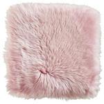 SCHAFFELL SITZKISSEN Rosa 34/34 cm - Rosa, Basics, Leder/Fell (34/34cm) - Linea Natura