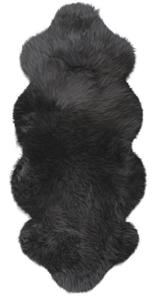 SCHAFFELL   Anthrazit - Anthrazit, Basics, Leder/Fell (140cm) - Linea Natura