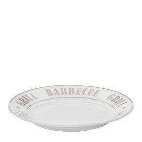 SALLADSTALLRIK - vit/grå, Lifestyle, keramik (19cm) - Homeware