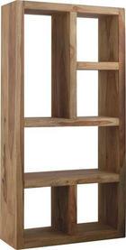 DĚLICÍ STĚNA - barvy sheesham, Lifestyle, dřevo (90/180/35cm) - LANDSCAPE