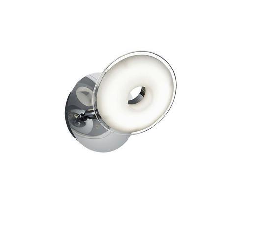 LED-STRAHLER - Chromfarben, Design, Glas/Kunststoff (11cm)