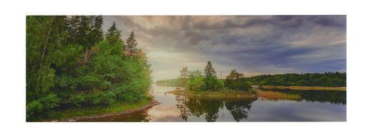 Landschaft & Natur GLASBILD - Multicolor, LIFESTYLE, Glas (98/33/2cm) - Eurographics
