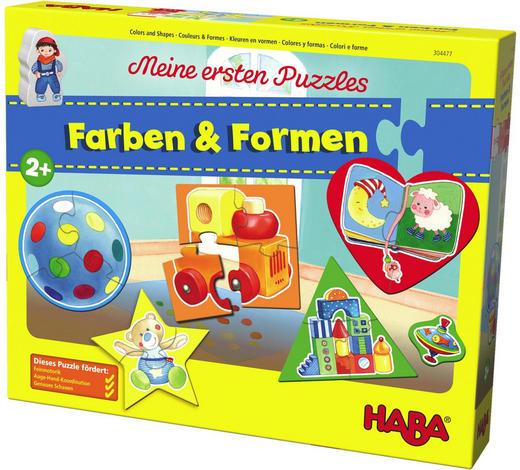PUZZLE - Multicolor, Basics, Holz/Weitere Naturmaterialien - Haba