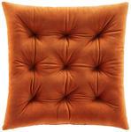 Sitzkissen Lydia - Rostfarben, ROMANTIK / LANDHAUS, Textil (40/40cm) - James Wood