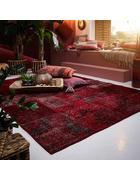 TEPPICH  90/160 cm  Rot   - Rot, Basics, Textil (90/160cm) - Esposa