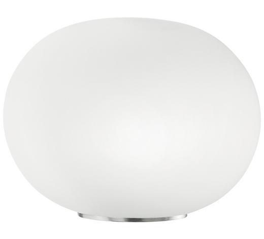 TISCHLEUCHTE - Weiß, Basics, Glas (36/36/27cm)