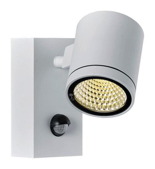 AUßENWANDLEUCHTE Weiß - Weiß, Design, Metall (15/8,5/15,5cm) - Helestra