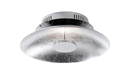 LED-DECKENLEUCHTE - Silberfarben, Design, Metall (30/30/10cm)