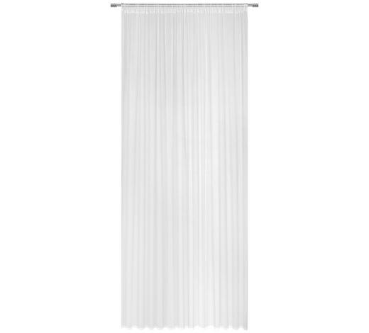 FERTIGVORHANG halbtransparent - Weiß, Basics, Textil (200/245cm) - Boxxx