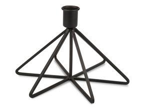 LJUSSTAKE - svart, Basics, metall (11/19/3cm)