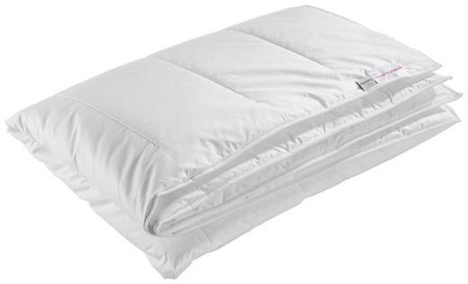 Ganzjahresbett Thermo Balance  155/220 cm - Weiß, Basics, Textil (155/220cm) - Centa-Star
