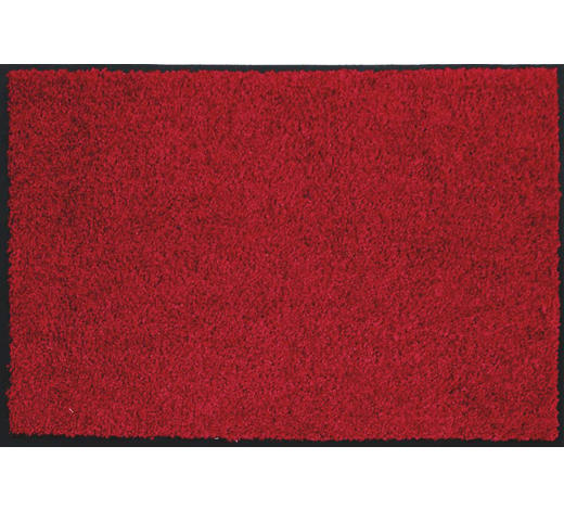 FUßMATTE 80/120 cm Uni Rot  - Rot, Basics, Textil (80/120cm) - Esposa