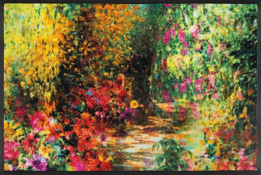 FUßMATTE 50/75 cm Floral Multicolor - Multicolor, Kunststoff/Textil (50/75cm) - Esposa