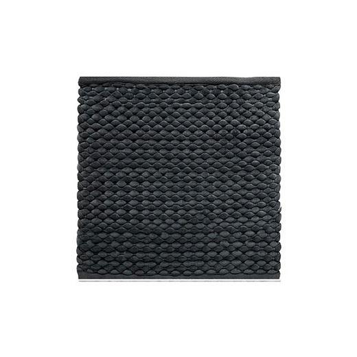 BADTEPPICH  Anthrazit  60/60 cm - Anthrazit, Basics, Textil (60/60cm) - Aquanova