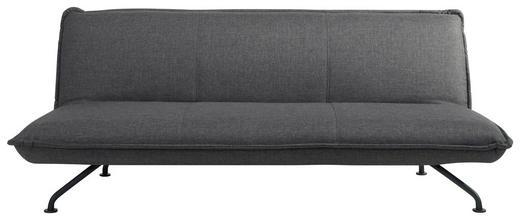 ZOFA  temno siva tekstil - temno siva/črna, Design, kovina/tekstil (190/89/79cm) - Xora