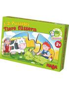 Puzzle - Multicolor, Basics, Naturmaterialien (5/10cm) - Haba