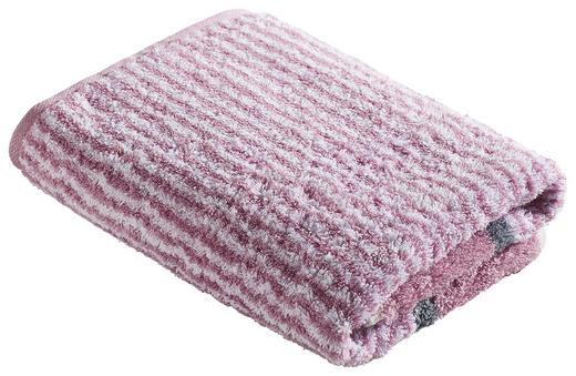 DUSCHTUCH 70/140 cm - Rosa, Design, Textil (70/140cm) - Cawoe
