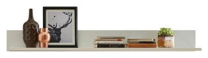 WANDBOARD in 150/17/25 cm Weiß  - Weiß, Design, Holzwerkstoff (150/17/25cm) - Stylife