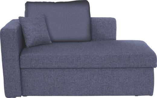 LIEGE Blau - Blau/Schwarz, Design, Kunststoff/Textil (142/90/87cm) - Novel