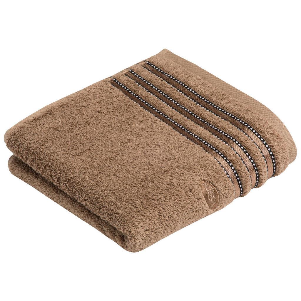 Vossen HANDTUCH 50/100 cm, Braun | Bad > Handtücher > Handtuch-Sets | Braun | Textil | Vossen