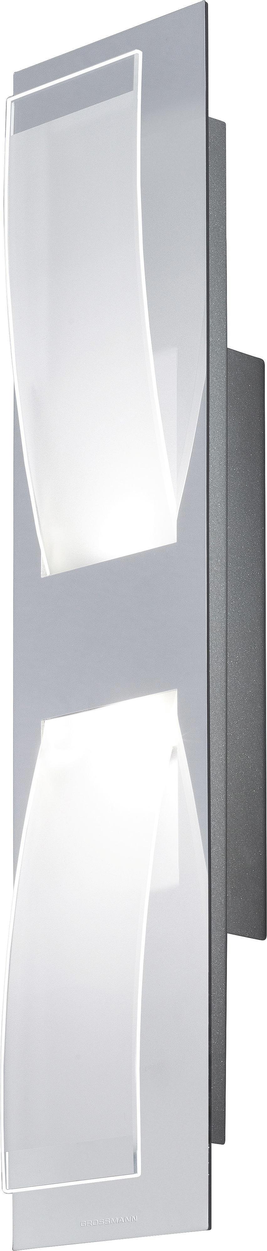 WANDLEUCHTE - LIFESTYLE, Glas/Metall (45/10/8cm)