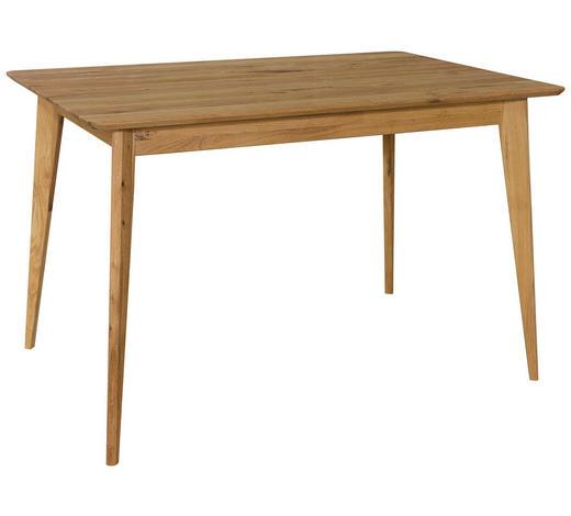 JÍDELNÍ STŮL, masivní, divoký dub, barvy dubu - barvy dubu, Design, dřevo (120/80/76cm) - Carryhome
