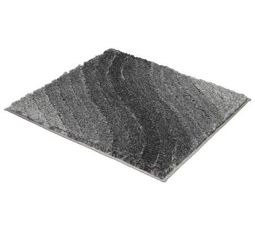 BADTEPPICH in Anthrazit 60/60 cm - Anthrazit, KONVENTIONELL, Kunststoff/Textil (60/60cm) - Kleine Wolke