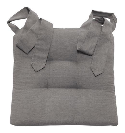 STUHLKISSEN Grau 42/46/7 cm - Grau, Basics, Textil (42/46/7cm) - Novel