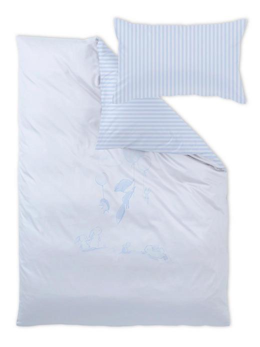 Cart Bauer Babybettwäsche - Hellblau, Basics, Textil (100/135cm)
