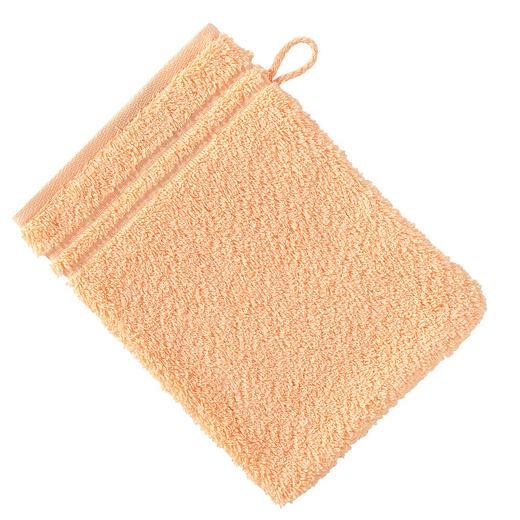 WASCHHANDSCHUH  Sandfarben - Sandfarben, Basics, Textil (16/22cm) - VOSSEN