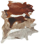 Rinderfell, brauntöne  Braun - Braun, Basics, Leder (2,2-2,8qcm) - LINEA NATURA