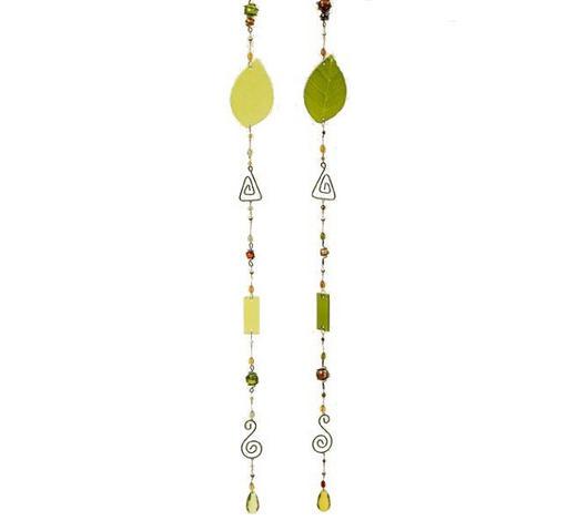 GIRLANDA,  - zelená/světle zelená, Trend, kov/sklo (108cm)