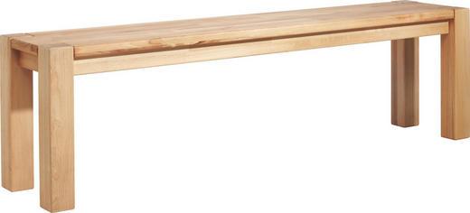 SITZBANK Kernbuche massiv Buchefarben - Buchefarben, Design, Holz (160/45/33cm) - Linea Natura
