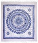 PLÁŽOVÁ OSUŠKA - bílá/modrá, Lifestyle, textilie (210/250cm) - Esposa