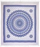 STRANDTUCH 210/250 cm - Blau/Weiß, LIFESTYLE, Textil (210/250cm) - Esposa