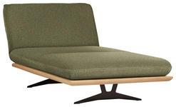 OTTOMANE in Holz, Textil Grün, Schwarz  - Beige/Schwarz, Design, Holz/Textil (114/92/165-218cm) - Dieter Knoll