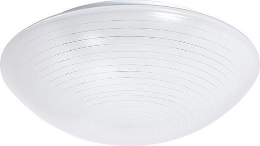 DECKENLEUCHTE - Weiß, LIFESTYLE, Glas (30/10cm)