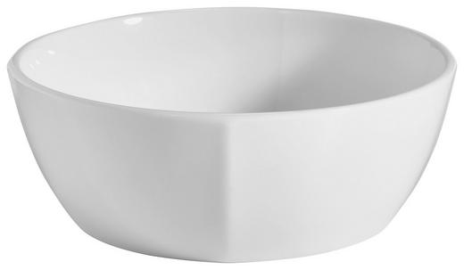MÜSLISCHALE 14// cm - Weiß, Basics, Keramik (14//cm) - Novel