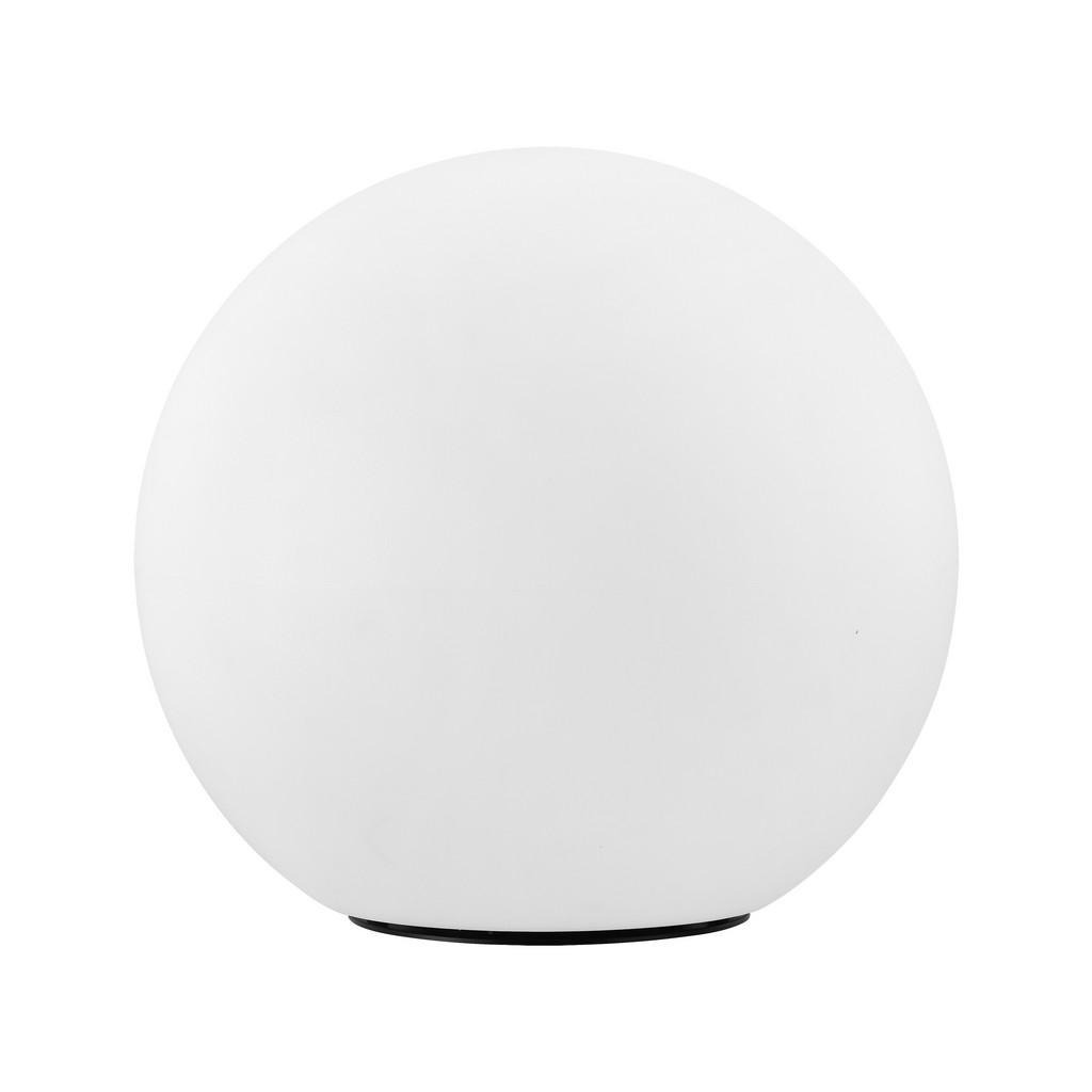 XXXLutz Außenkugelleuchte , 98107* Monterolo-Connect , Weiß , Kunststoff , matt , Farbwechsler, Smartphone-Steuerung , 003348142102 | Lampen > Tischleuchten > Kugelleuchten | XXXLutz