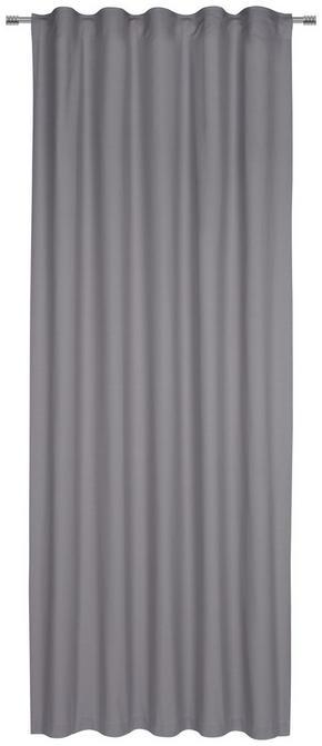 GARDINLÄNGD - grå, Basics, textil (140/255cm) - Esposa
