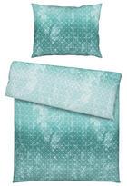 POSTELJINA - tirkizna, Basics, tekstil (140/200cm) - NOVEL