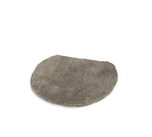 WC-DECKELBEZUG  Taupe  47/50 cm     - Taupe, Basics, Textil (47/50cm) - Kleine Wolke