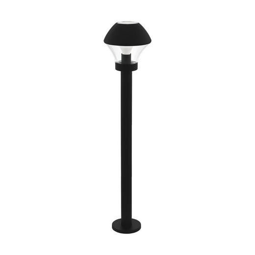 LED-AUßENLEUCHTE - Klar/Schwarz, Design, Glas/Metall (21/99cm)