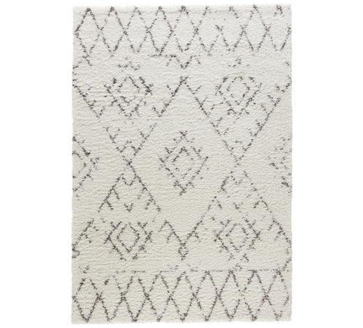 HOCHFLORTEPPICH - Creme, KONVENTIONELL, Textil (80/150cm) - Novel
