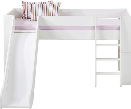 SPIELBETT 90/200 cm Weiß - Weiß, Design, Holz (90/200cm) - CARRYHOME