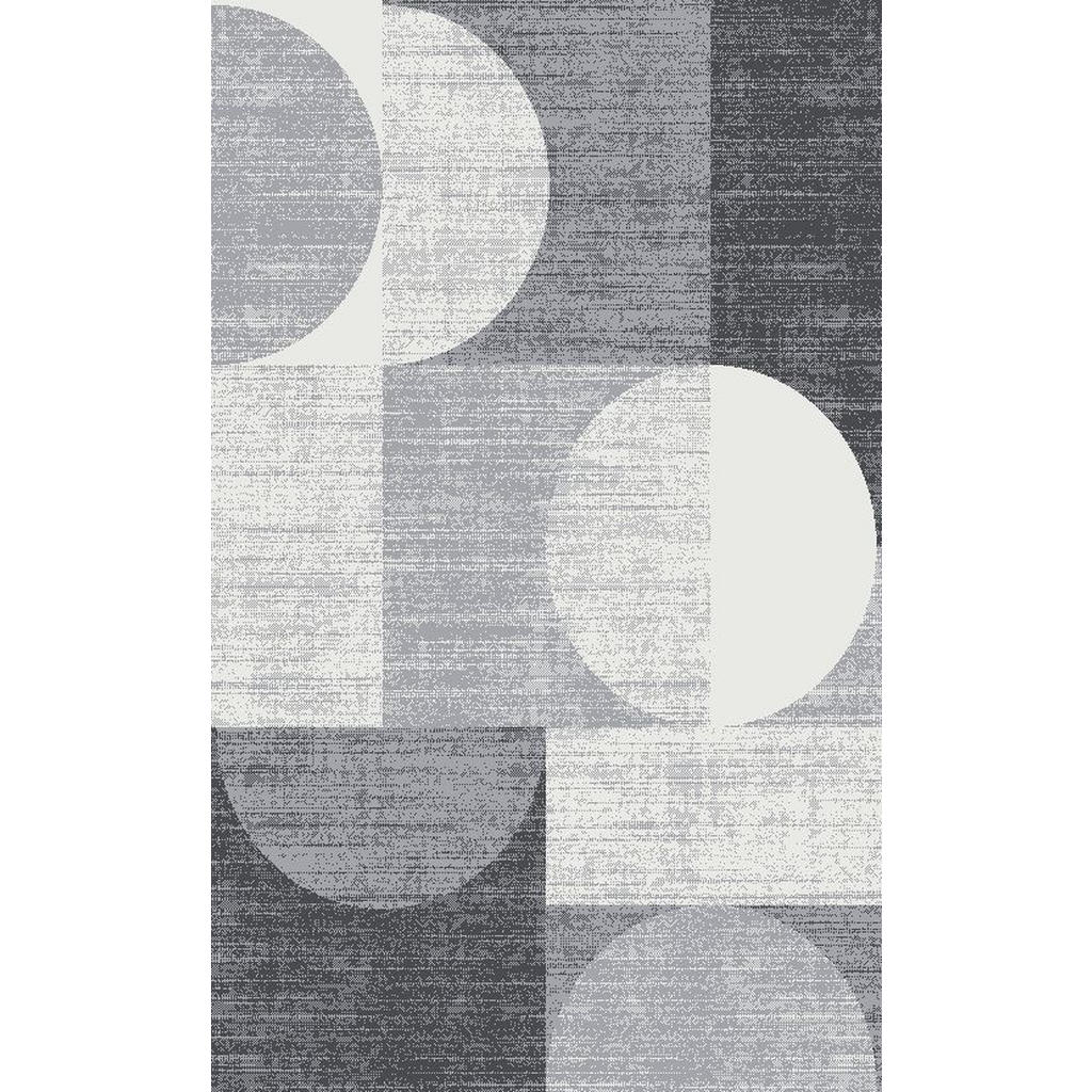 Novel Webteppich 80/150 cm grau